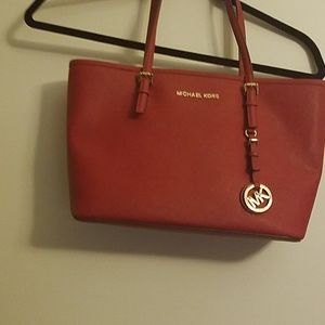 Michael Kors Red Purse